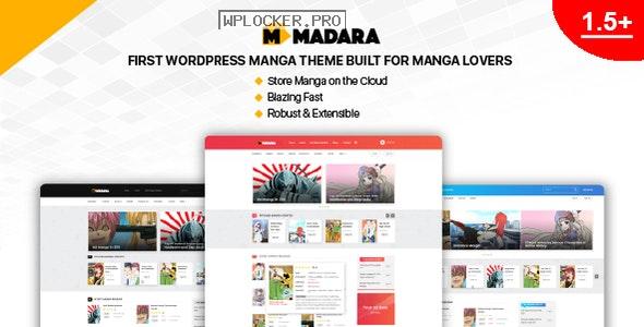 Madara v1.6.6.4 – WordPress Theme for Manga