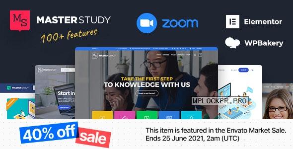 Masterstudy v4.3.2 – Education Center WordPress Theme NULLED