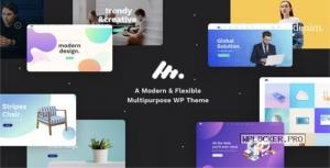 Moody v2.3.2 – A Modern & Flexible Multipurpose Theme