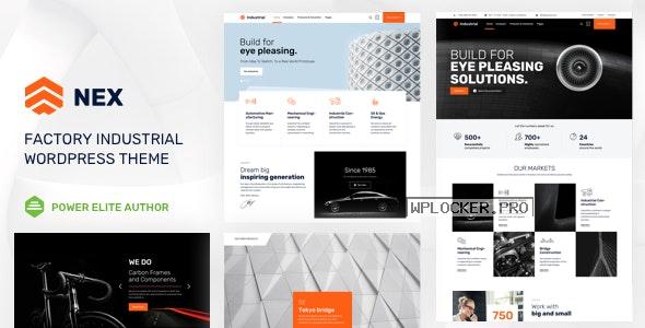 Nex v10 – Factory & Industrial WordPress