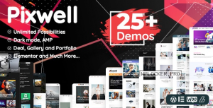 Pixwell v7.2 – Modern Magazine