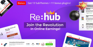 REHub v15.8 – Price Comparison, Business Community