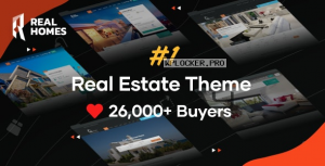 Real Homes v3.14.0 – WordPress Real Estate Theme