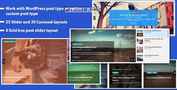 Responsive Recent Post Slider Pro plugin for WordPress v1.5.6