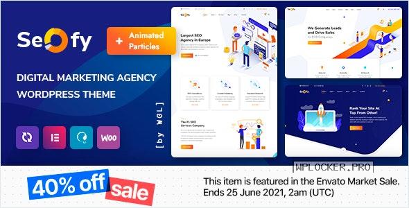 Seofy v1.6.0 – Digital Marketing Agency WordPress Theme