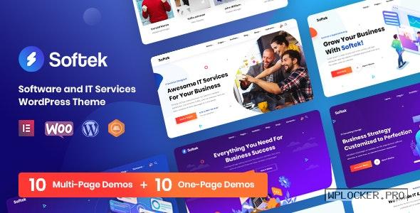 Softek v1.2.2 – Software & IT Solutions WordPress Theme