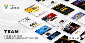 Team v5.0.17 – Soccer, Football, Hockey, Basketball Club & eSport Gaming WordPress Theme