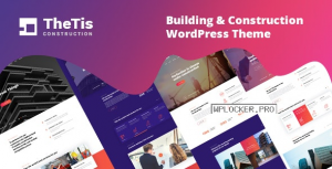 TheTis v1.0.4 – Construction & Architecture WordPress Theme