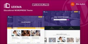 UDEMA v1.0 – Modern Educational WordPress Theme