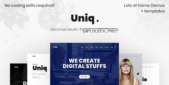 Uniq v2.0.6 – Minimal Creative