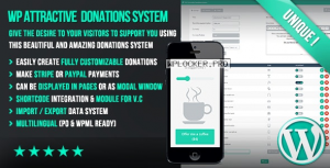 WP Attractive Donations System v1.17 – Easy Stripe & Paypal donations