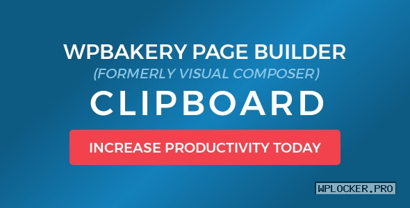 WPBakery Page Builder (Visual Composer) Clipboard v4.6.0