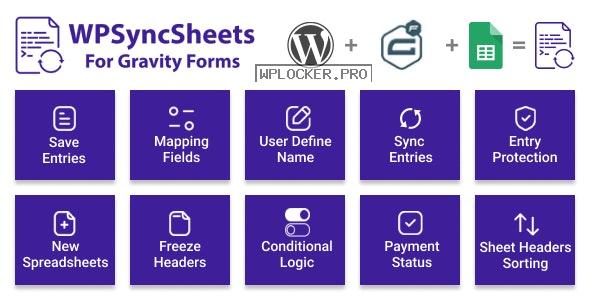WPSyncSheets For Gravity Forms v3.3 – Gravity Forms Google Spreadsheet Addon