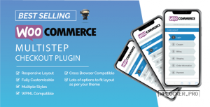 WooCommerce MultiStep Checkout Wizard v3.7.2