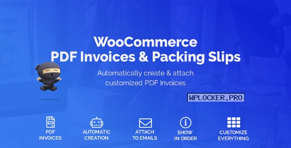 WooCommerce PDF Invoices & Packing Slips v1.4.2