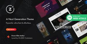 Zeen v4.0.9.3 – Next Generation Magazine WordPress