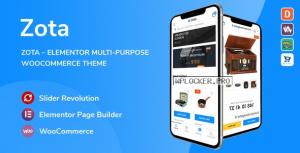 Zota v1.0.2 – Elementor Multi-Purpose WooCommerce Theme