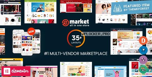 eMarket v4.8.0 – Multi Vendor MarketPlace WordPress Theme