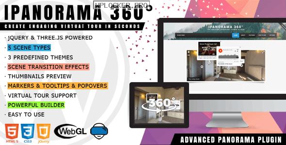 iPanorama 360° v1.6.14 – Virtual Tour Builder for WordPress