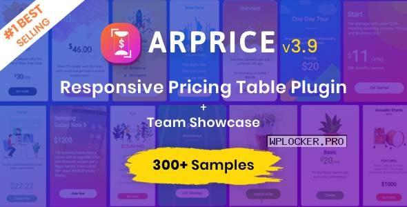 ARPrice v3.9 – Ultimate Compare Pricing table plugin