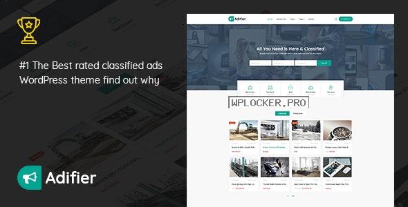 Adifier v3.8.9 – Classified Ads WordPress Theme