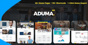 Aduma v1.3.2 – Consulting, Finance, Business WordPress Theme
