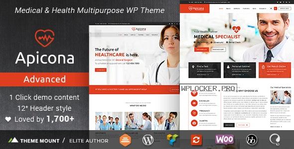 Apicona v22.3.0 – Health & Medical WordPress Theme