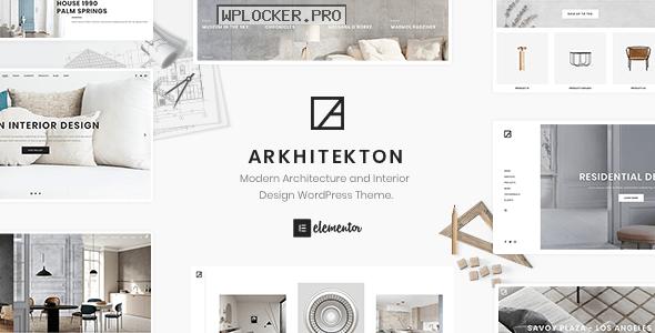 Arkhitekton v1.2.8 – Modern Architecture and Interior Design WordPress Theme