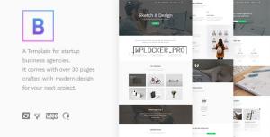 BoTheme v1.3.1 – Startup Business WordPress Theme