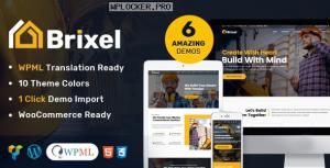 Brixel v2.0.2 – Building Construction WordPress Theme