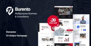 Burento v1.0 – Multipurpose Business WordPress Theme