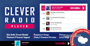 CLEVER v2.2 – Shoutcast and Icecast Radio Player for WPBakery Page Builder