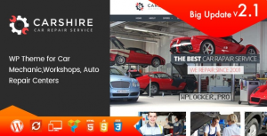 Car Shire v2.7 – Auto Mechanic & Repair WordPress Theme