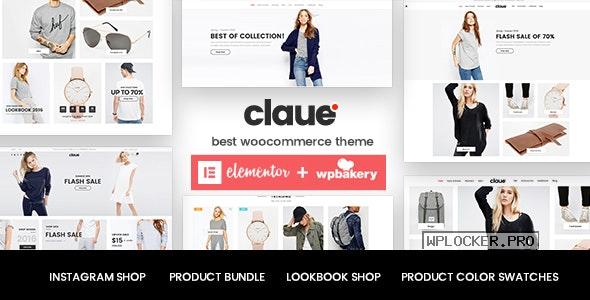 Claue v2.1.5 – Clean, Minimal WooCommerce Theme