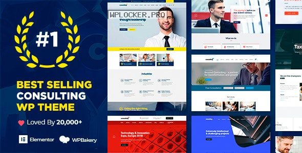 Consulting v6.1.5 – Business, Finance WordPress Theme