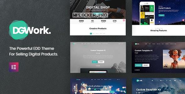 DGWork v1.8.8 – Powerful Responsive Easy Digital Downloads
