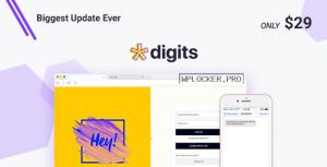 Digits v7.8 – WordPress Mobile Number Signup and Login