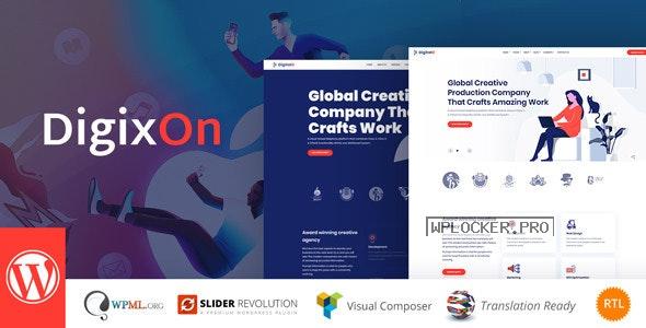 Digixon v2.1 – Digital Marketing Strategy Consulting WP Theme