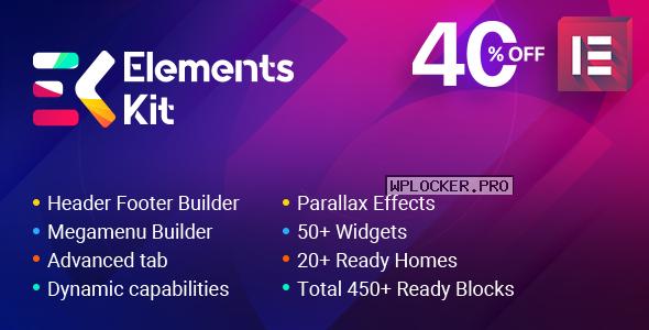 ElementsKit v2.3.3 – The Ultimate Addons for Elementor Page Builder