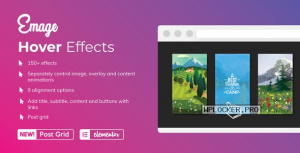 Emage v4.3.3 – Image Hover Effects for Elementor