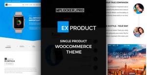 ExProduct v1.5.8 – Single Product theme