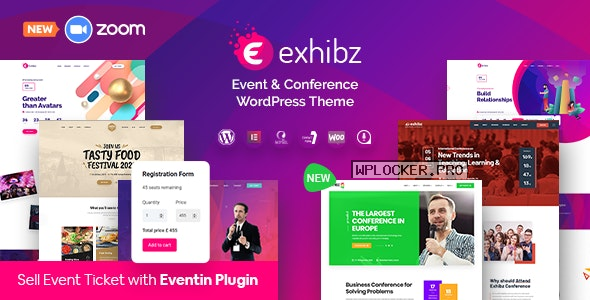 Exhibz v2.3.0 – Event Conference WordPress Theme