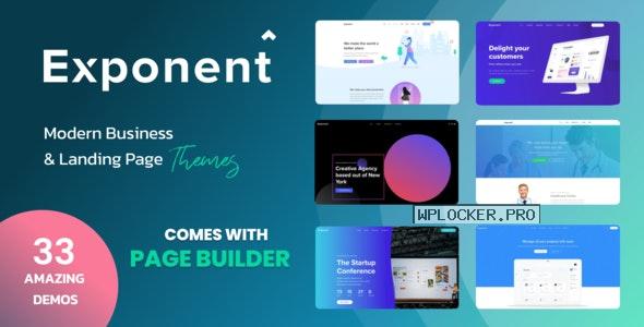 Exponent v1.2.9.2 – Modern Multi-Purpose Business Theme