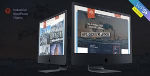 Glax v1.2.0 – Industry WordPress Theme