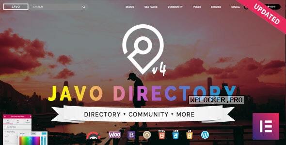 Javo Directory v4.2.2 – WordPress Theme