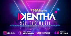 Kentha v3.2.2 – Non-Stop Music WordPress Theme with Ajax