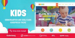 Kids v1.1.8 – Day Care & Kindergarten WordPress Theme for Children