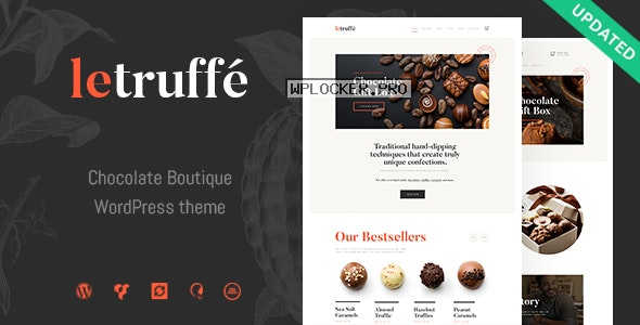 Le Truffe v1.1.1 – Chocolate Sweets & Candy Store WordPress Theme