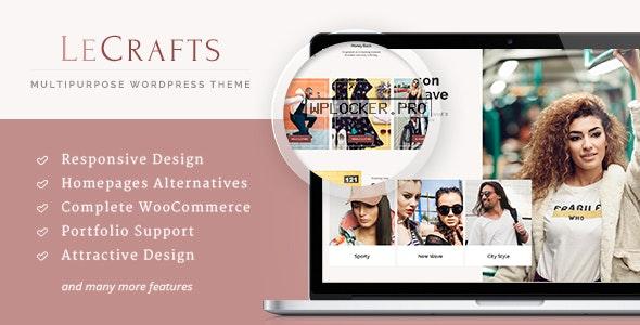LeCrafts v3.11.5 – WooCommerce Marketplace Themes