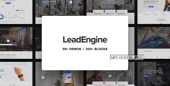 LeadEngine v3.0 – Multi-Purpose Theme with Page Builder